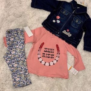 NEW Denim Jacket Set for Baby Girl